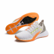 Puma White Vaporous Gray Orange Pop Fizzy Yellow