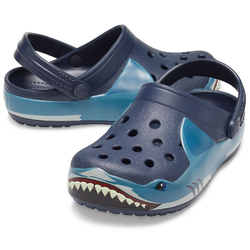 Crocs Crocs FunLab Shark Band Lights Clog K