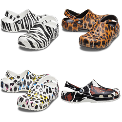 Crocs Classic Animal Print Clog