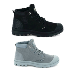 Palladium Pampa Low Cuff Lea